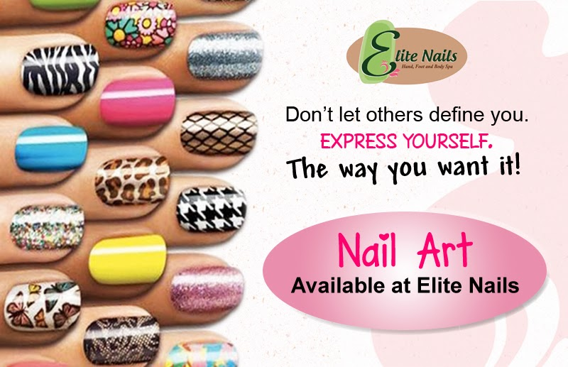 Elite Nails Hand, Foot and Body Spa: Nail Art; Available at your ...