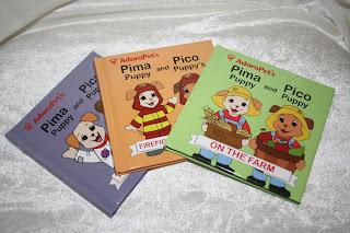 AdoraPet mini books