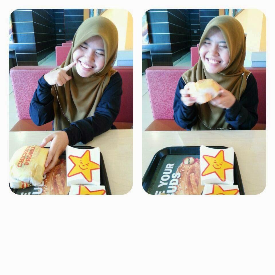makan burger banyak kalori