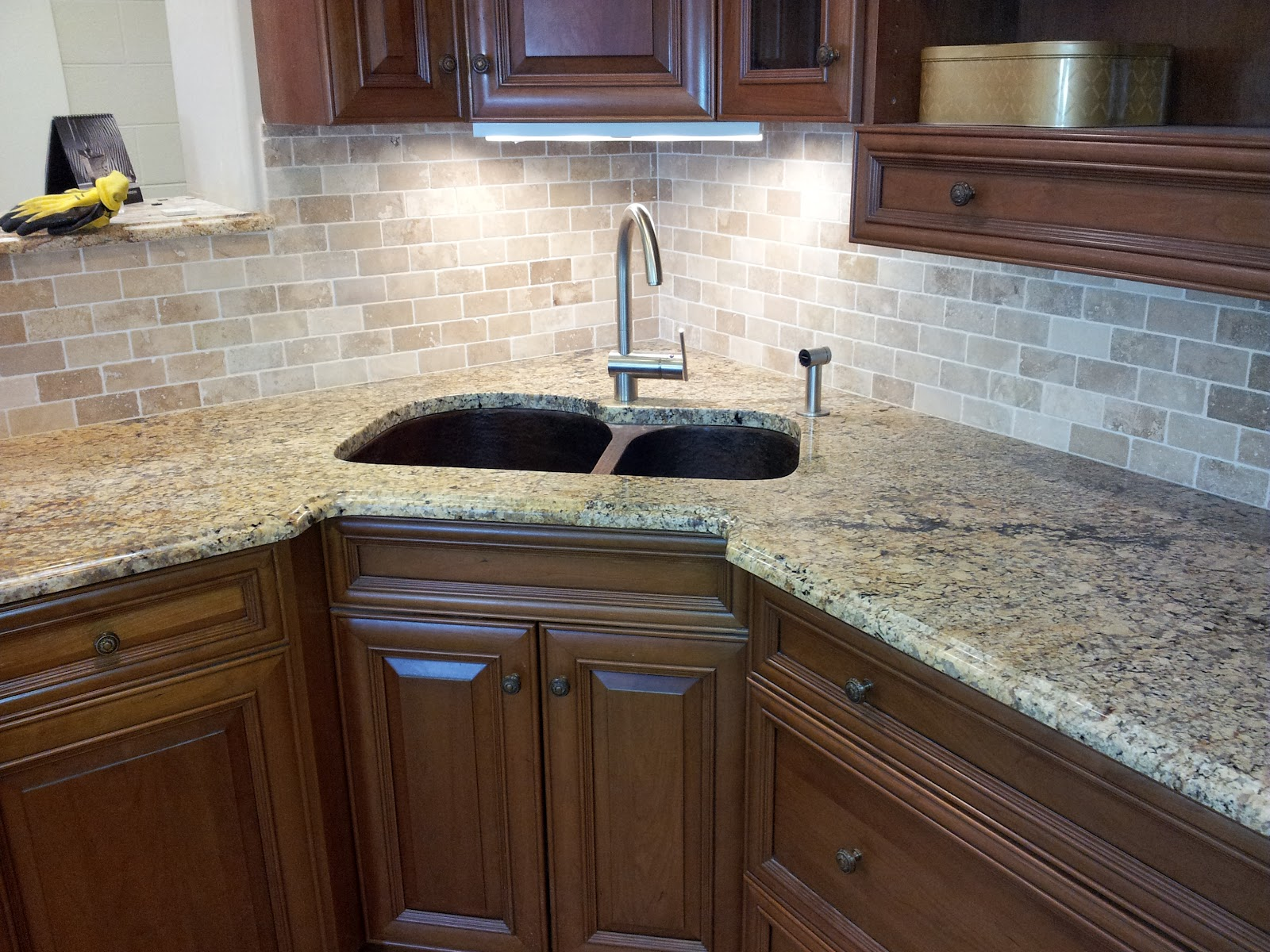 tile backsplash and granite countertop in trenton new jersey