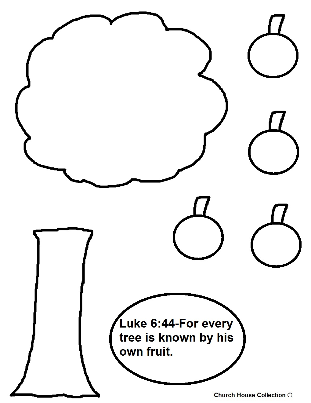 Coloring Page Fig Tree.  luke 6 31 coloring pages photo 20 Luke