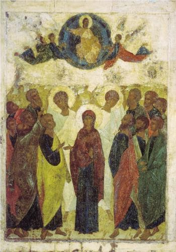 Ascension1408 (Tretyakov Gallery, Moscow) by Andrei Rublev