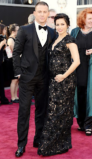 Tatum and Dewan-Tatum at the Oscars