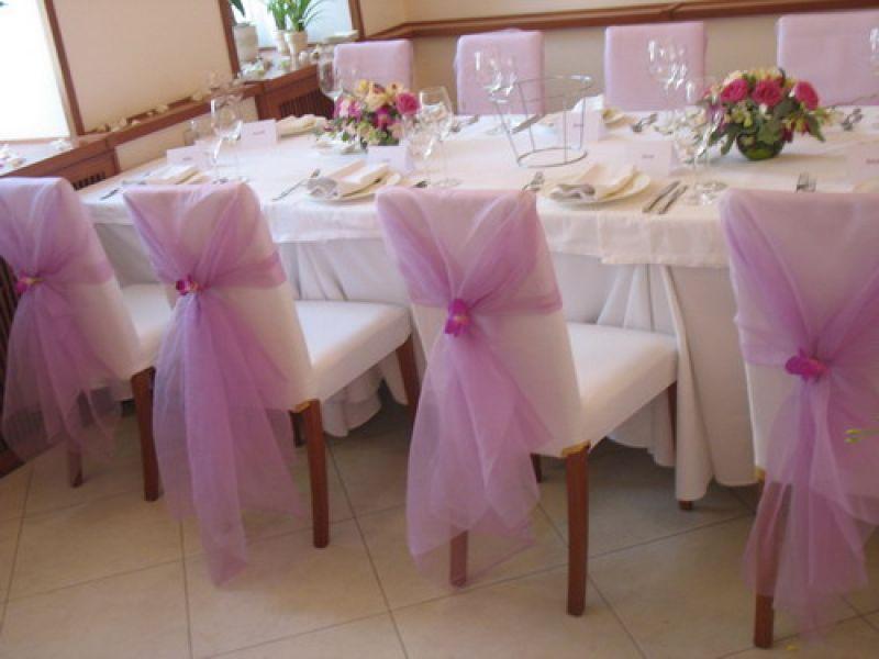 Украшение стульев свадьба своими руками