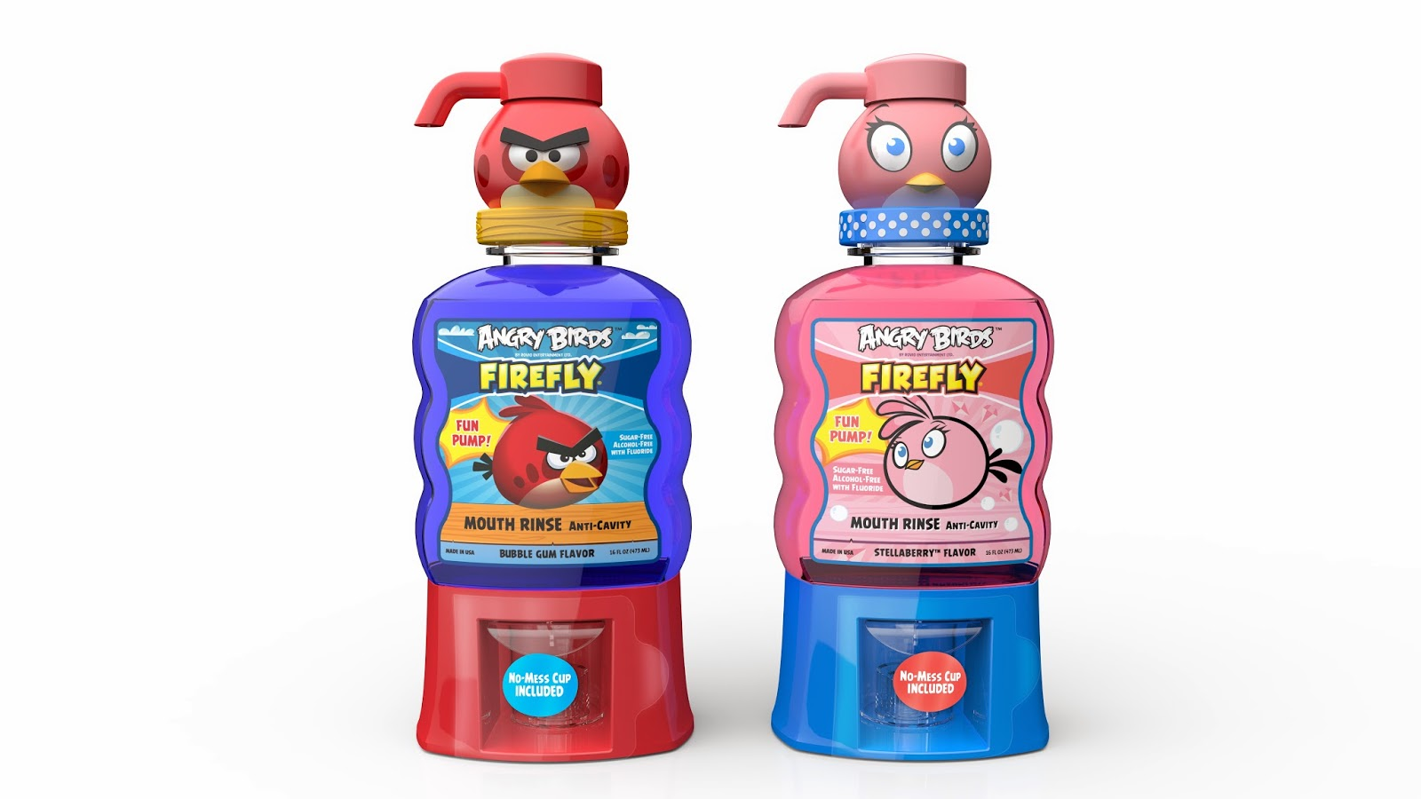 firefly angry birds mouth rinses