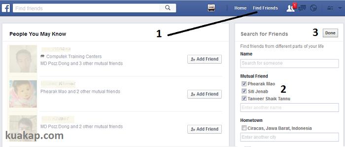 Cara Memperbanyak / Menambah Teman Facebook Dengan Cepat & Mudah Bertamabah 100+ Otomatis