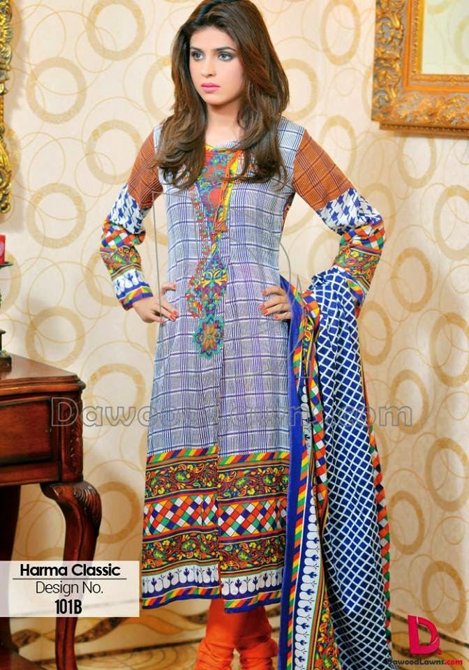 Harma prints lawn collection 2015