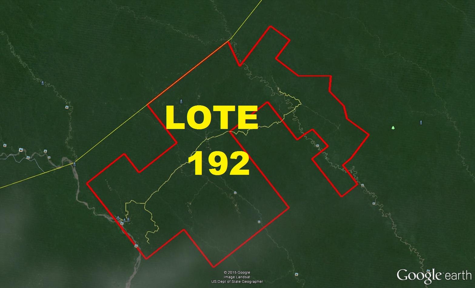 Geo gps per lote 192 amaz nicos ideolog as petroleros for Mi lote 1 ubicacion