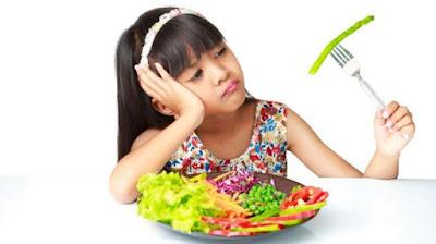 Cara agar anak mau makan