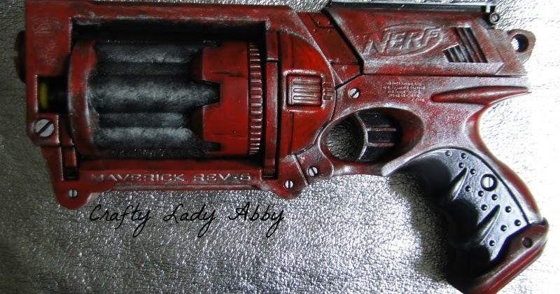 Paint Nerf Guns Like Metal