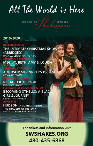 THIS MONTH'S SITE SPONSOR: Southwest Shakespeare Company presents...