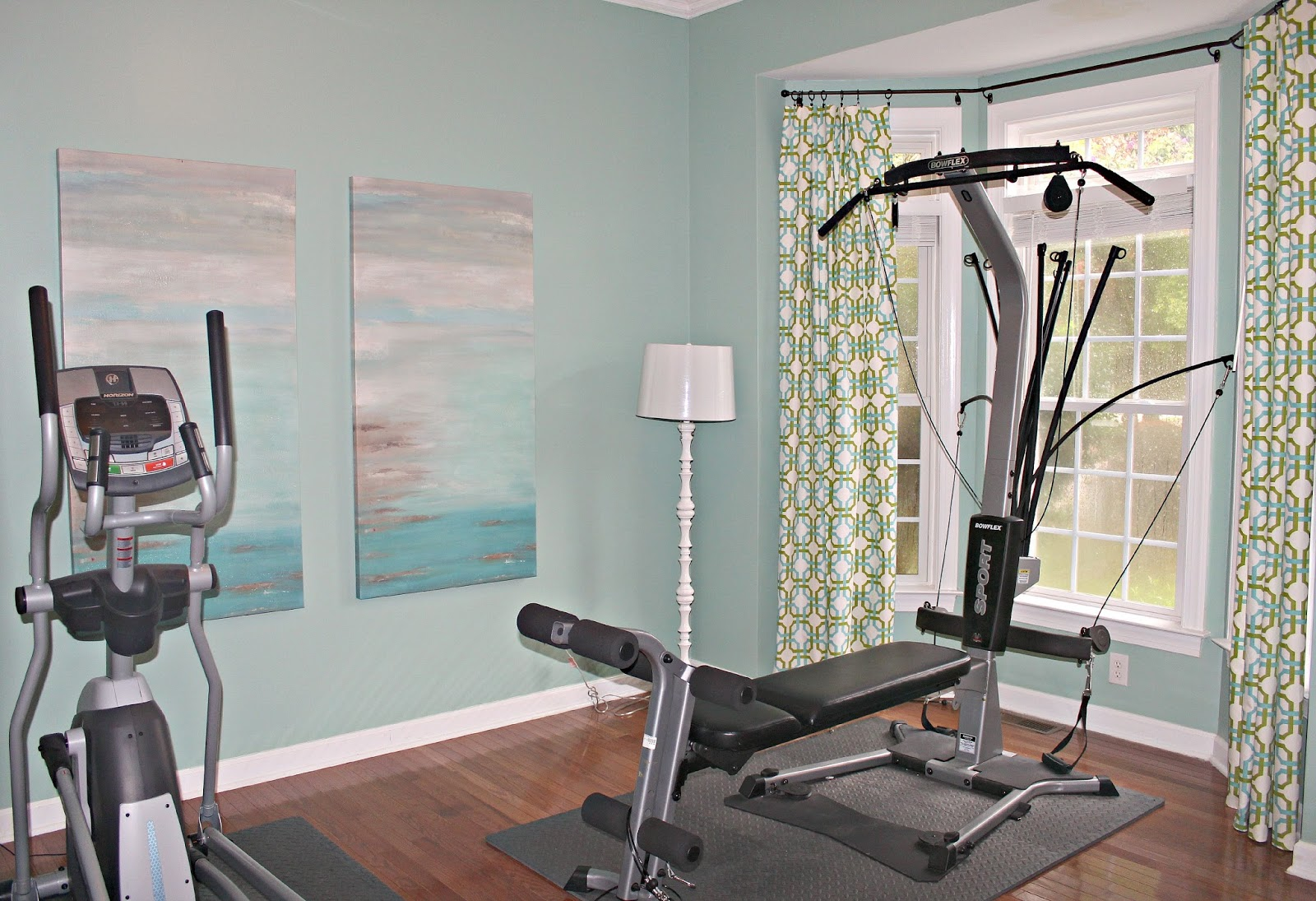 Wall Art For A Home Gym : Carolina on my mind home gym wall art