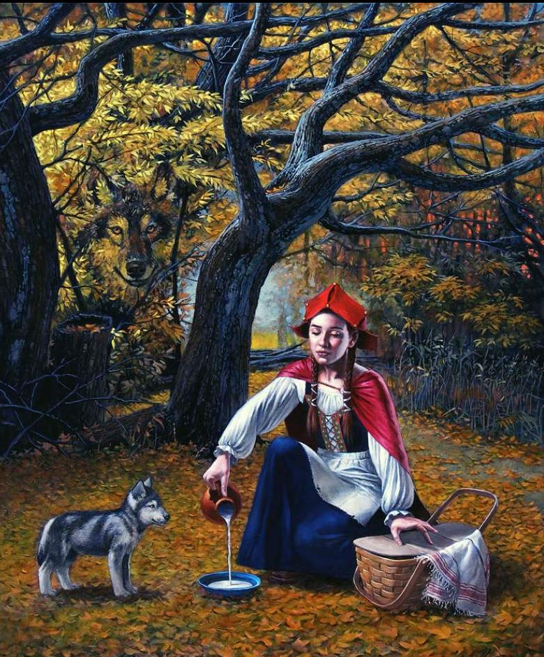 03-Michael-Cheval-Flippant-Benevolence-Surreal-Absurdist-Paintings-www-designstack-co