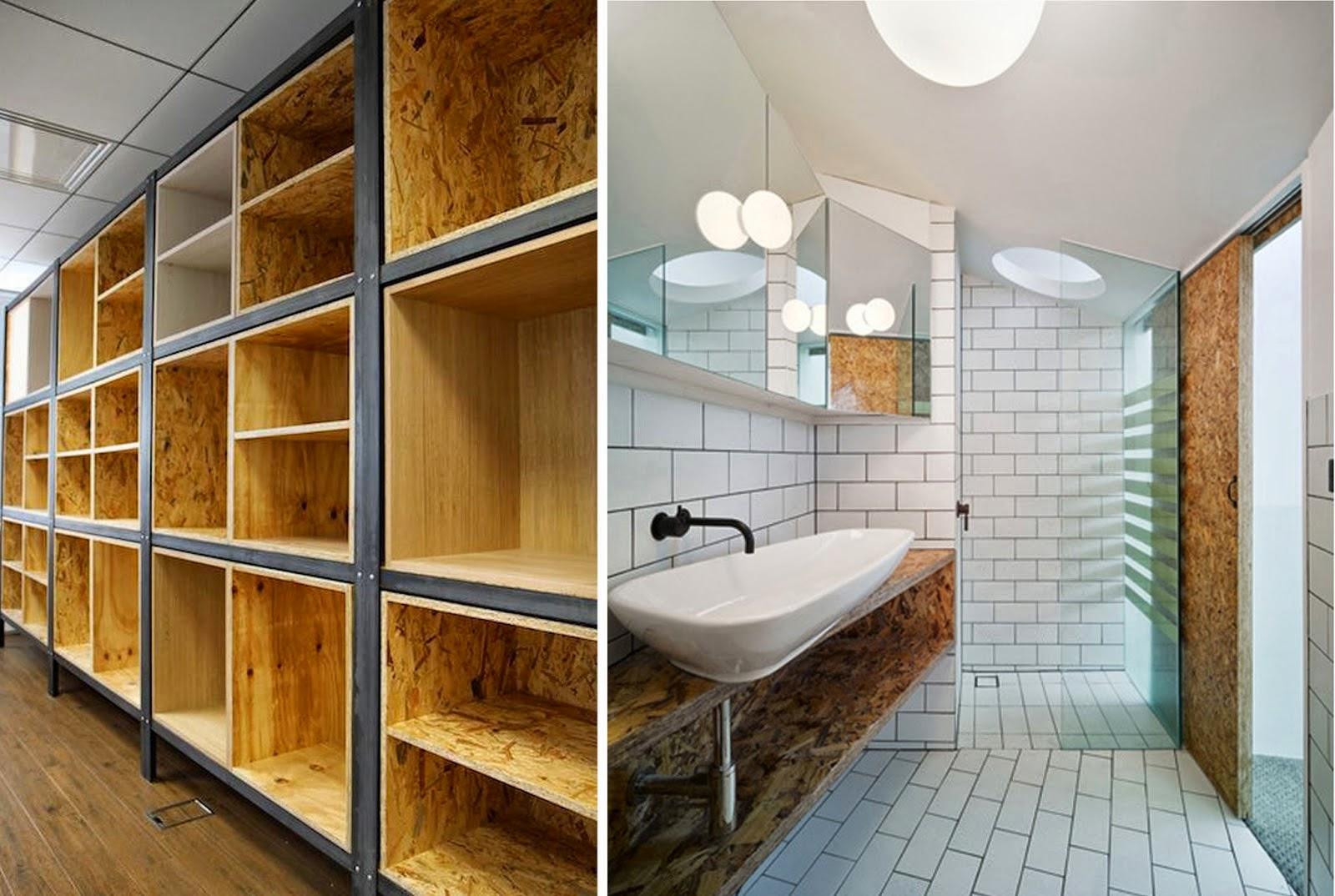 zoom sur l 39 osb en d co madame d core. Black Bedroom Furniture Sets. Home Design Ideas