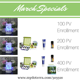 Our March Specials!