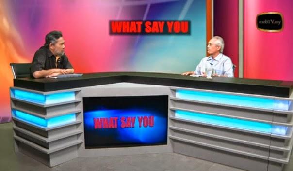 What Say YOU - krisis politik Selangor with Datuk A Kadir Jasin