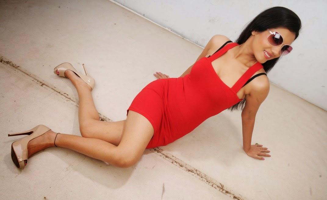Anusmriti Sarkar at Heroine Movie Photo Shoot Stills