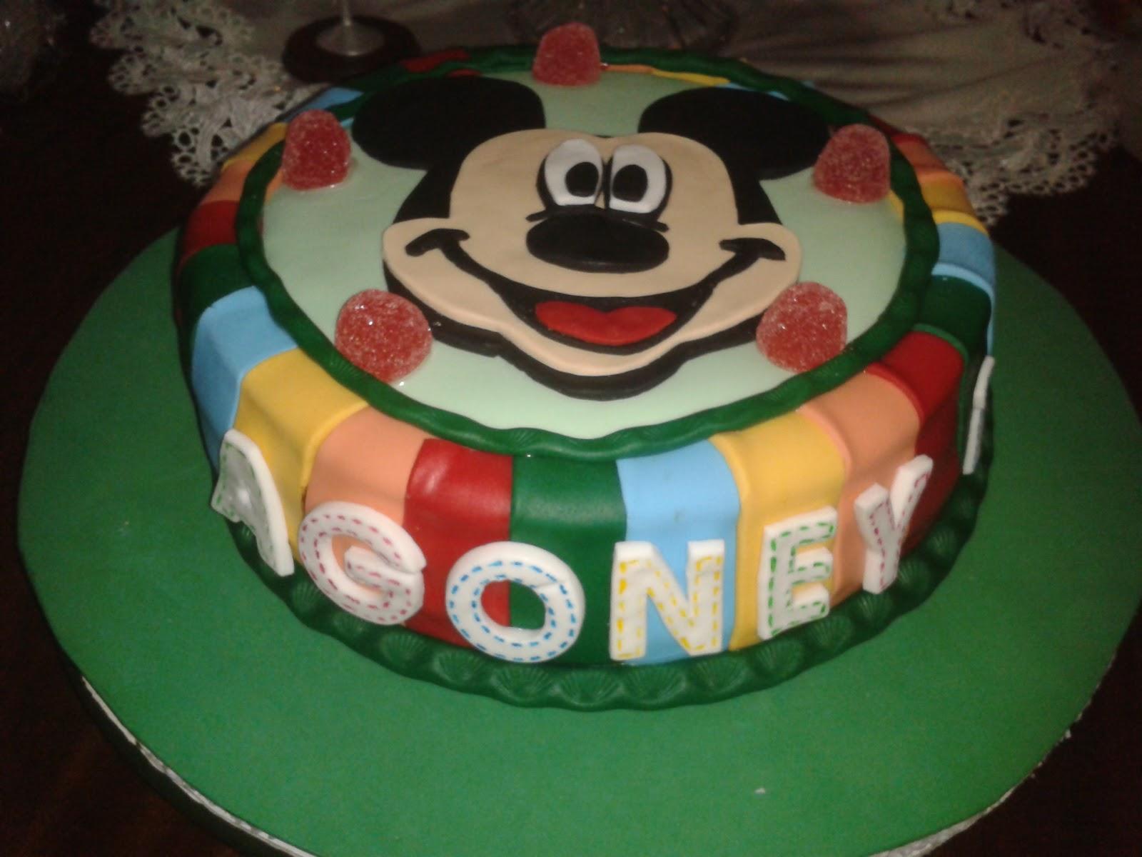Cupcakes tenerife otra tarta de mickey - Cupcakes tenerife ...