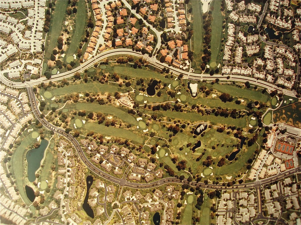 The Villages Golf and Country Club Aerial View