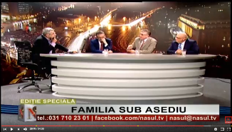 Naşul TV: FAMILIA SUB ASEDIU - Invitaţi: Mihai Gheorghiu, Cristian Ionescu şi Cătălin Vasile
