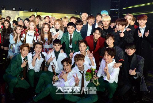 160114 25th Seoul Music Awards EXO