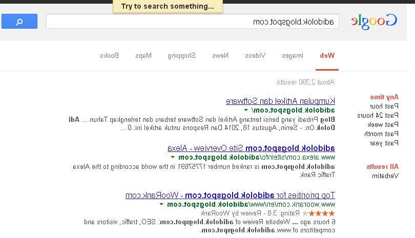 hal aneh tentang google
