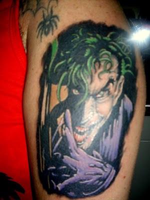 Tatuagens do Coringa no Braço