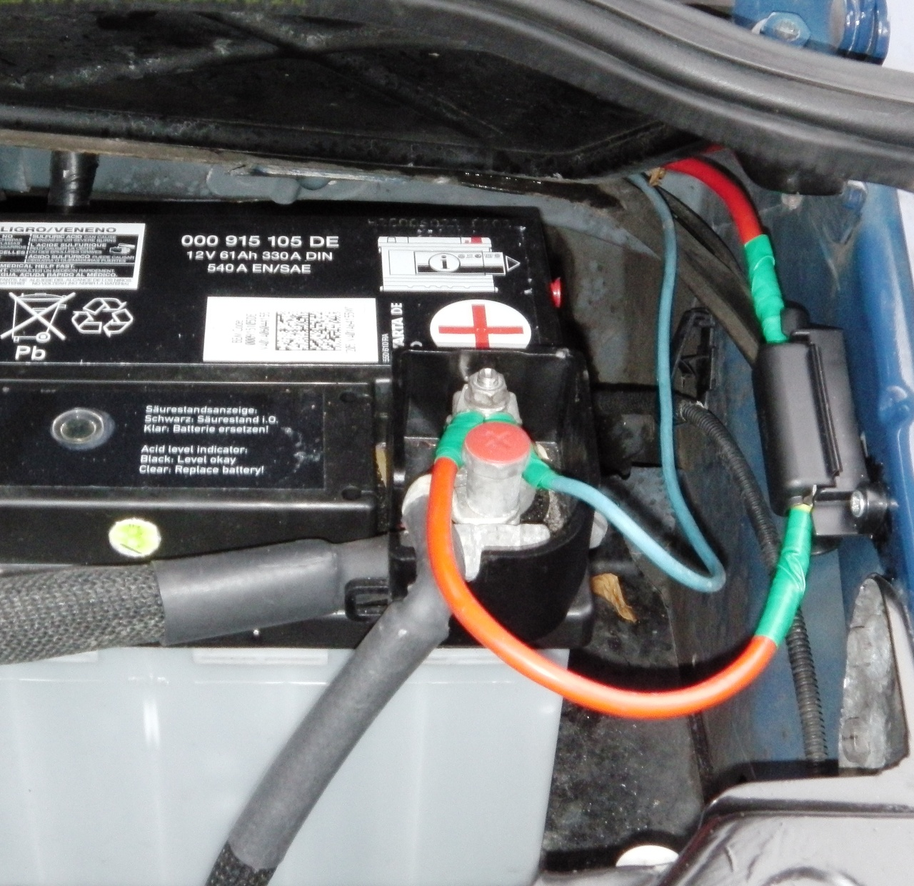 Split Charge Relay Vw T5 Wiring A Transporter We Then Installed Smart System And Auxiliary Leisure Battery Van Conversionvw T4 High Quality