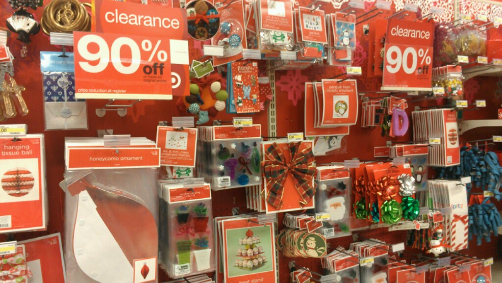 target christmas clearance 90 percent off i saved 204 - Target Christmas Clearance Schedule