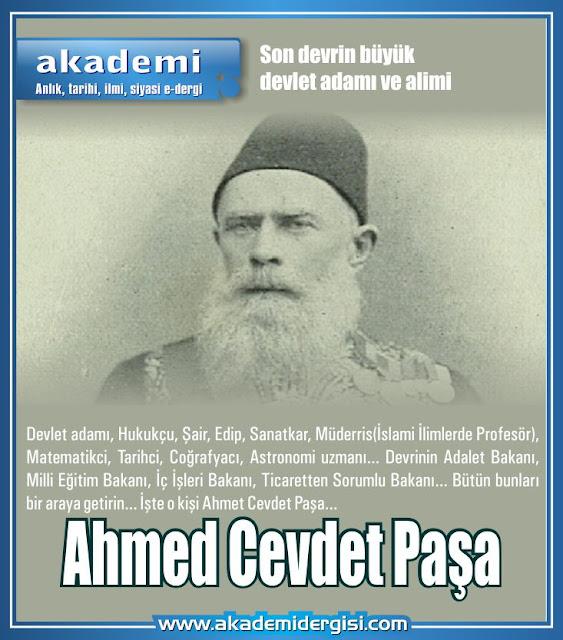 Ahmed Cevdet Paşa kimdir?