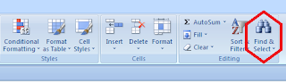 Tab Find-Replace Text data tabel excel