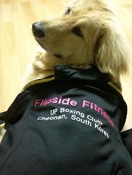 Flipside Fitness Mascot