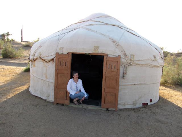Uzbekistán, yurta en Yangikazgan