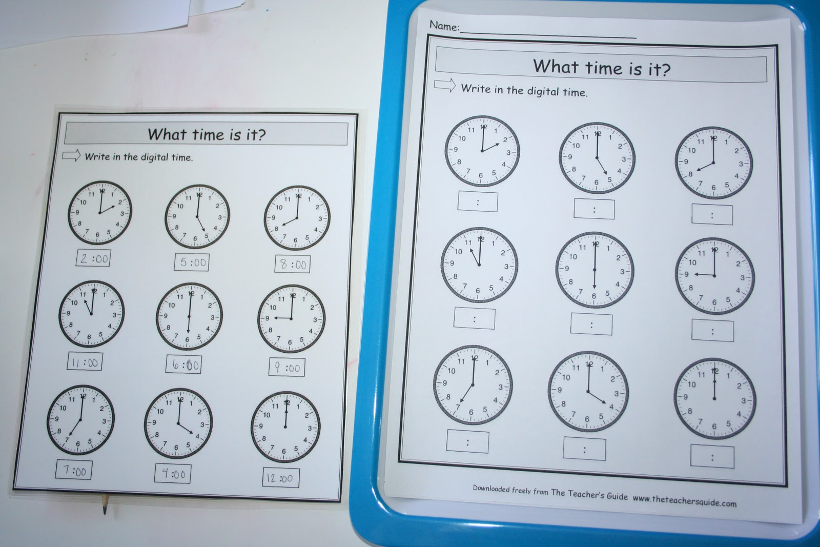 Our Country Road: Telling Time 2: Clocks and Hours