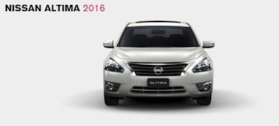 Imágenes del Nissan Altima 2016