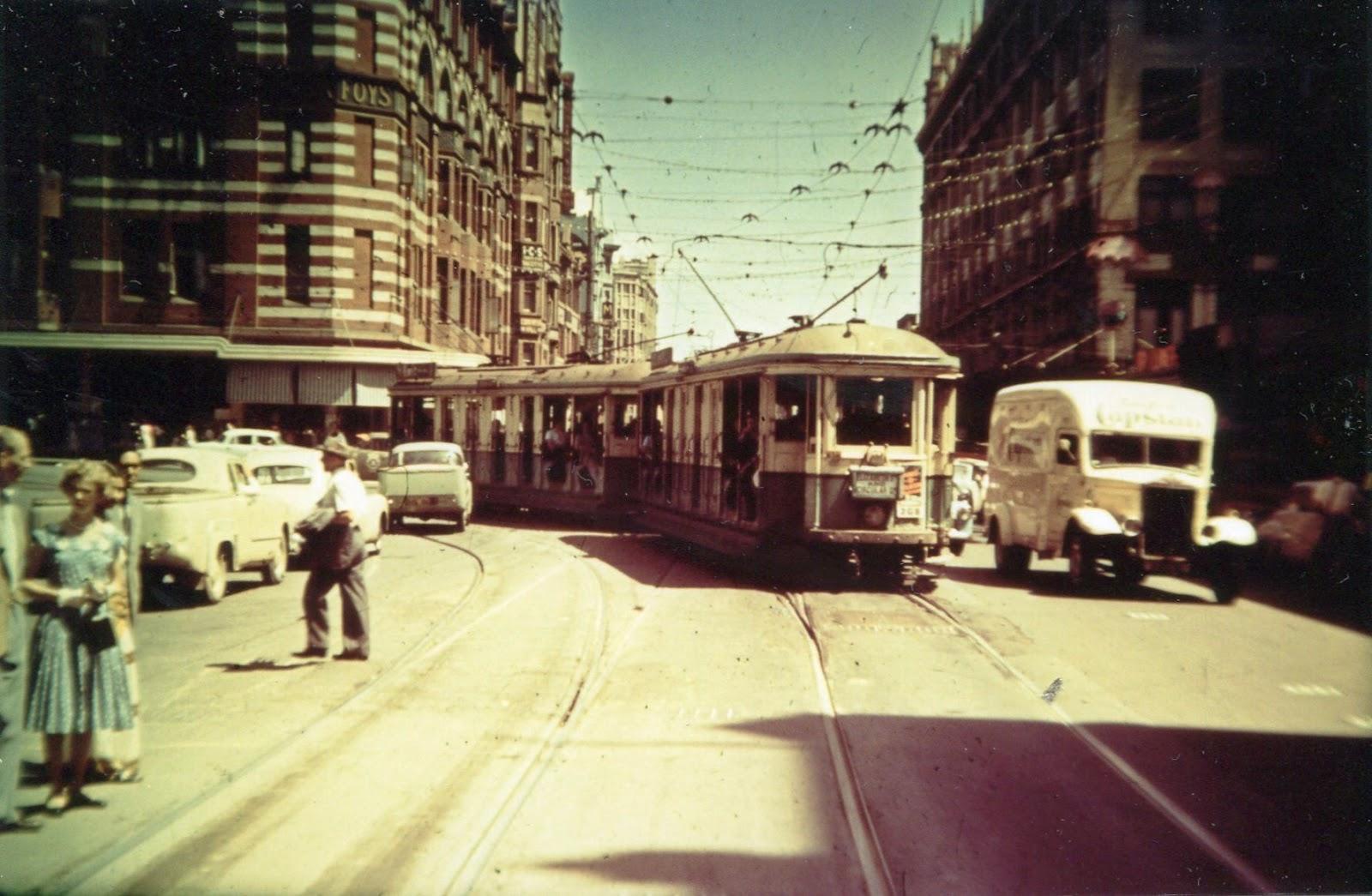 Trams Paddington Road
