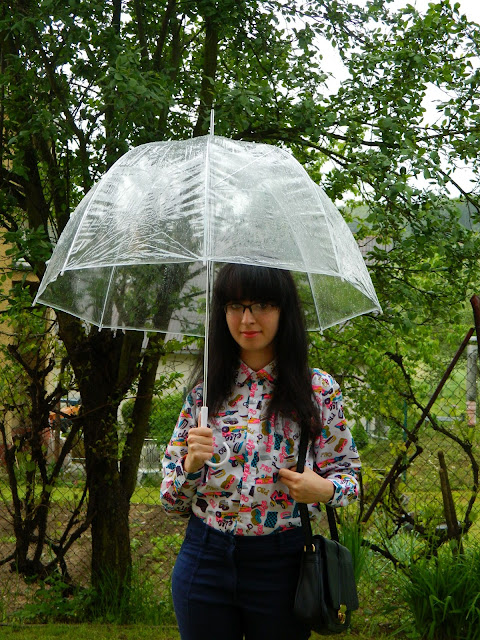 Umbrella evening