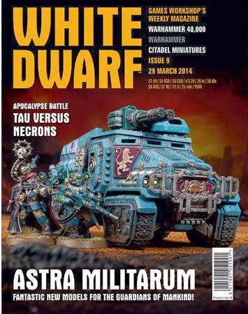 White Dwarf Weekly número 9 de marzo
