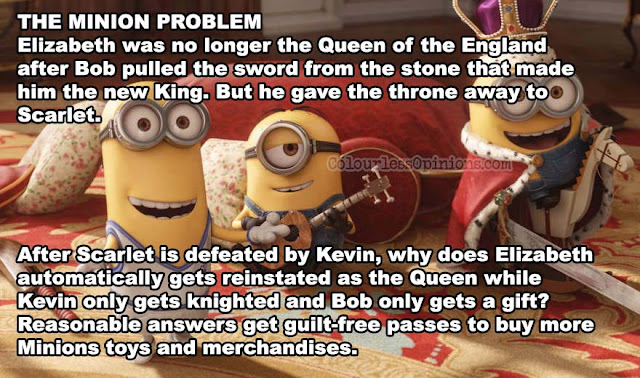minion problem minions movie meme