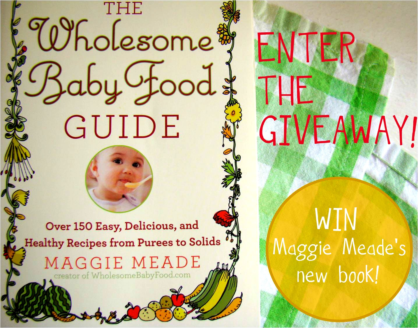 Family feedbag giveaway the wholesome baby food guide giveaway the wholesome baby food guide forumfinder Images