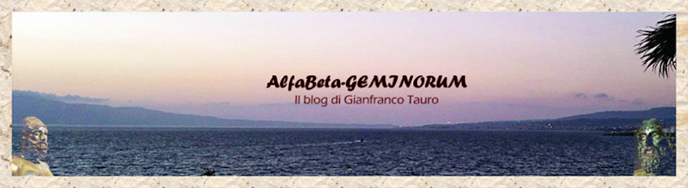 Il blog di Gianfranco Tauro