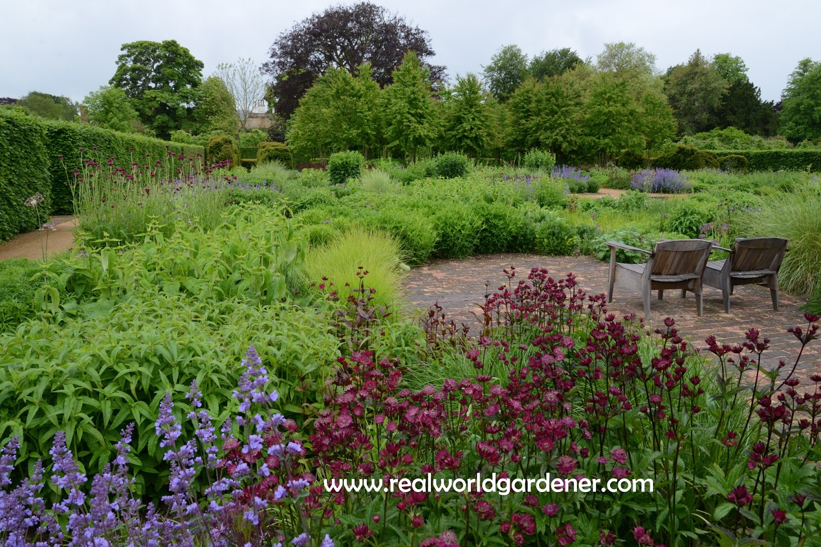 Real world gardener inspired gardens scampston in design for Garden design podcast