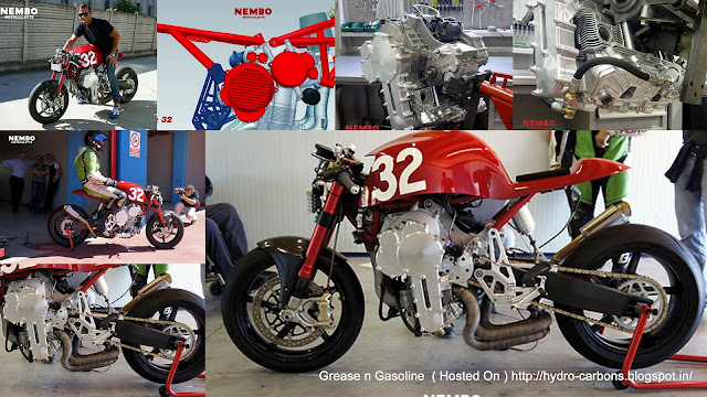 Nembo 32 Inverted Engine 3 Cylinder - Concept Motorcycle