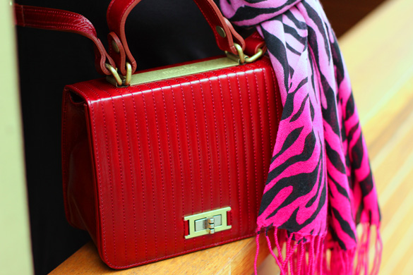 Mouche Red Doctor Bag