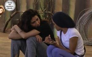 Karishma and Soni discuss housemates