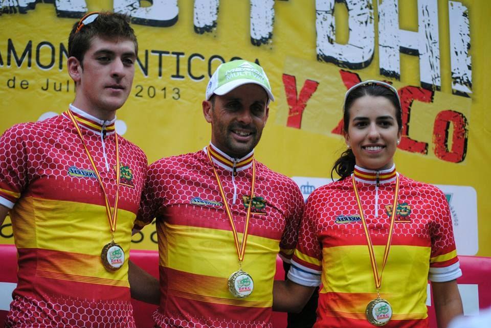 CAMPOIONATO DE ESPAÑA BTT XC 2013 PANTICOSA