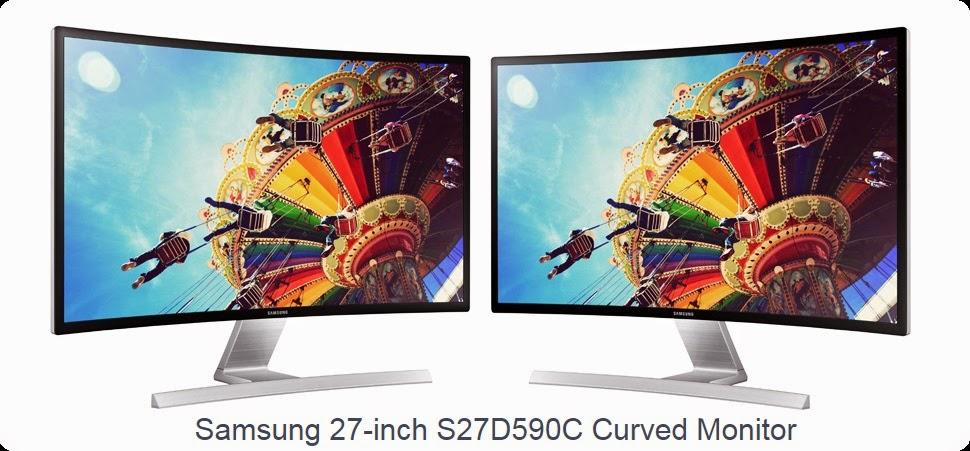 Samsung S27D590C Monitor Full HD yang Melengkung