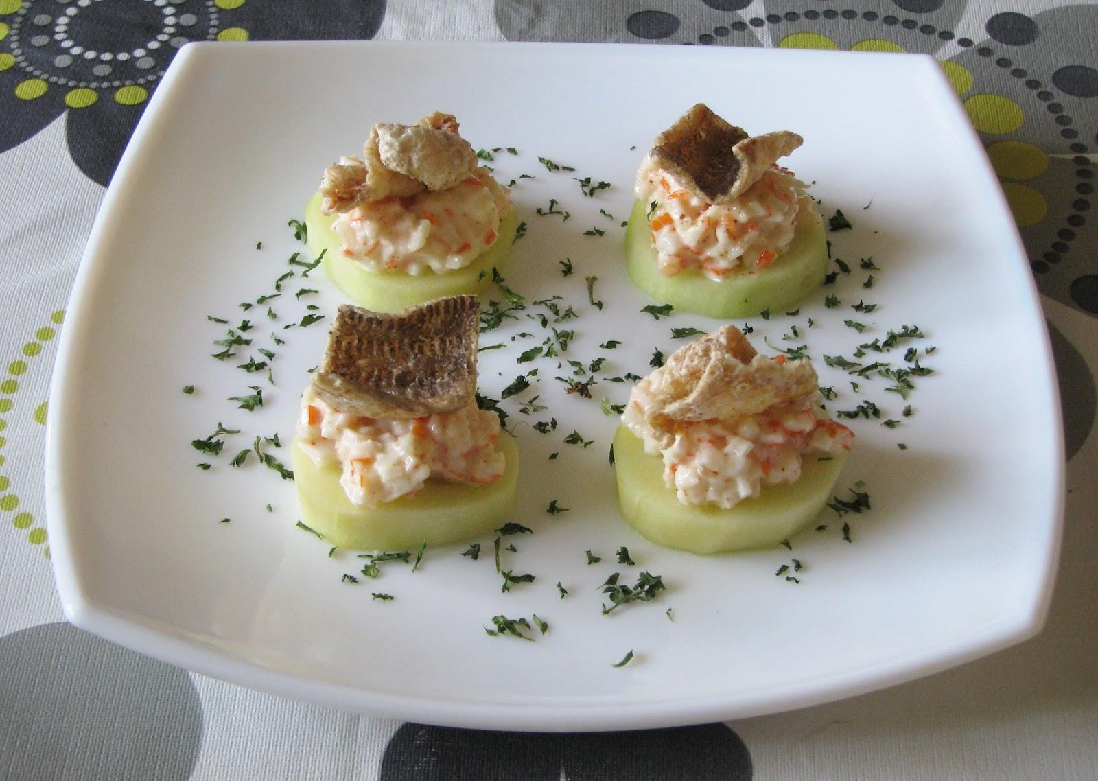 Recetas para cocinillas aperitivos con snacks de bacalao - Aperitivos con bacalao ...