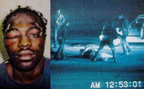 Rodney King video tape of him being beaten