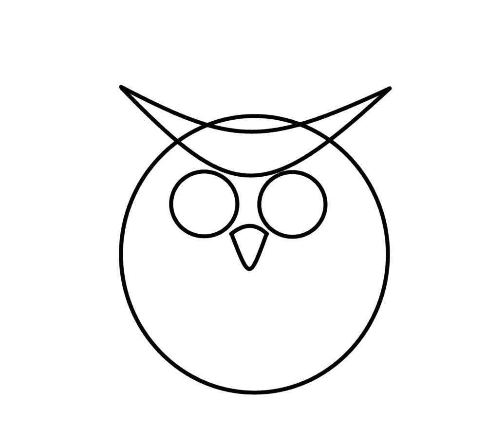 How to draw cartoons anime owl for Draw the owl